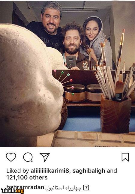 عکسهای بازیگران در شبکه های اجتماعی (2019)