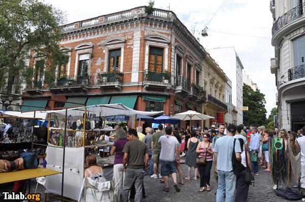 مکان های دیدنی شهر بوئنوس ایرس آرژانتین
