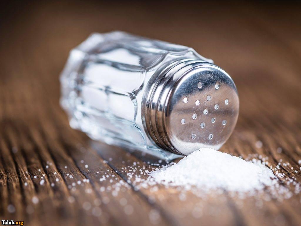 نمک یکی از مضرترین ماده غذایی است
