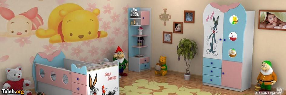 دکوراسیون های دیدنی و جدید اتاق کودک