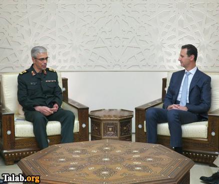 محمد باقری رئیس ستاد کل نیروهای مسلح با بشار اسد دیدار کرد