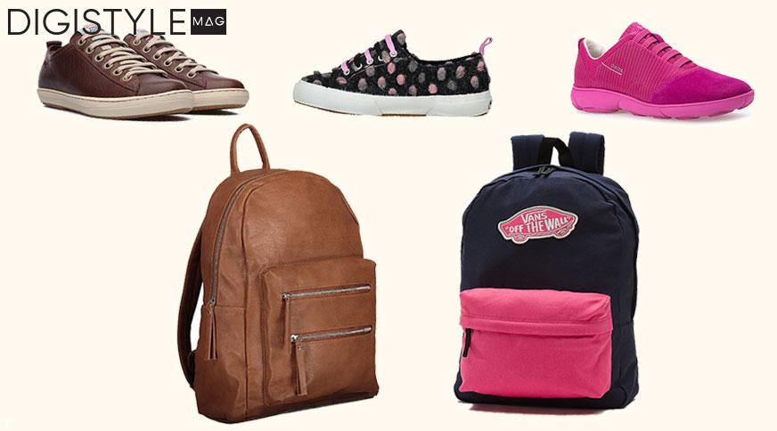 با انتخاب کیف و کفش دخترانه در مدرسه خوشتیپ باشید