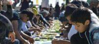 سفره ناهار اربعین با طول 75 کیلومتر رکورد زد (عکس)