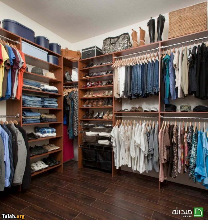 نکاتی برای لباس هایی که باید تا و آویزان شود