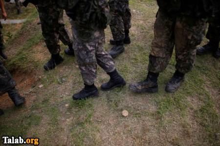 تصاویری از آموزش باله برای مردان در چین