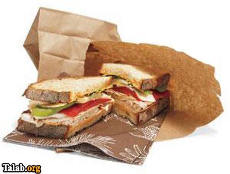 آموزش ساندویچ های سالم و خوشمزه مخصوص دانش آموزان
