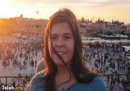 دختر جذاب ۲۶ ساله که برده جنسی رهبر داعش است + عکس