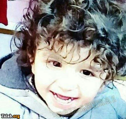 مرگ دلخراش اهورا کودک 2 ساله رشتی (+عکس)