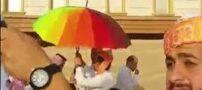 عکس جنجالی ازدواج همجنسگرایان در عربستان