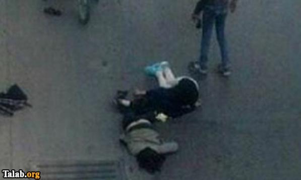 سقوط دختر اصفهانی از روی پل چمران (عکس)