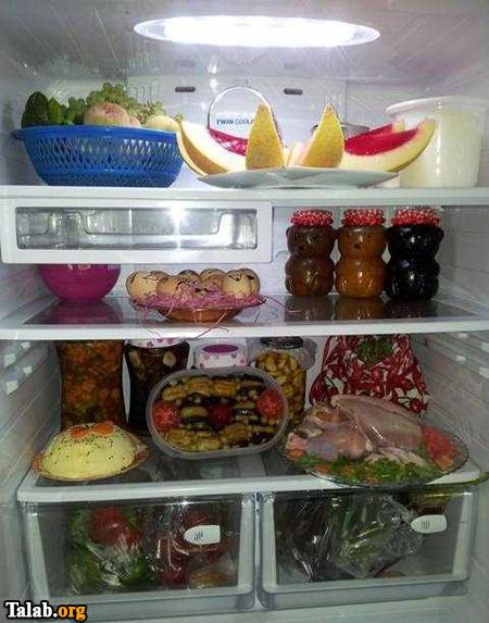 عکس هایی از تزیین یخچال خانه