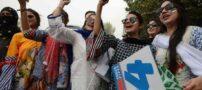 حضور دختران باکره در ورزشگاه کشور پاکستان (عکس)