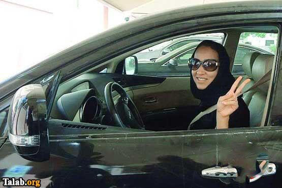 تصاویری از خوشحالی رانندگان زن در کشور عربستان