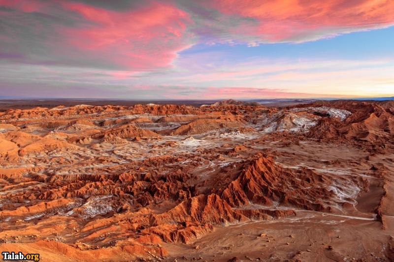 مکان جذاب و دیدنی کویر آتاکامای شیلی
