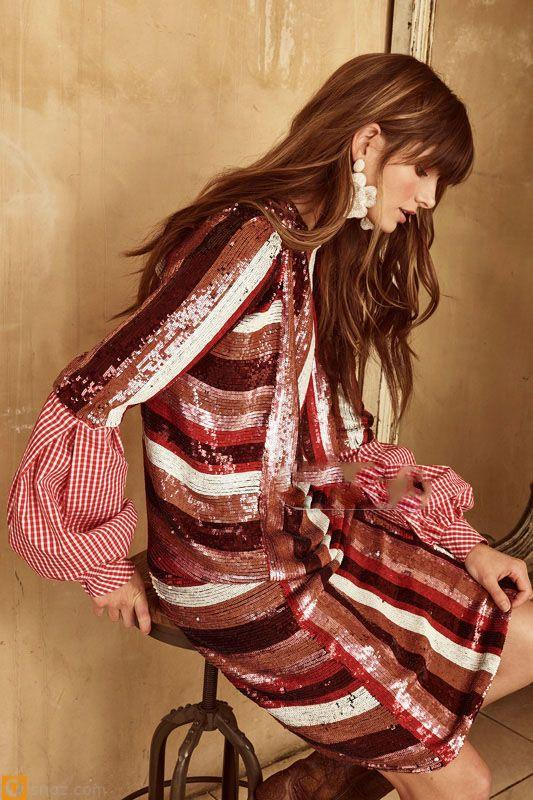 انواع لباس های خاص مخصوص مجالس در برند  Johanna Ortiz