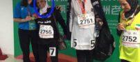 خانم 81 ساله ای که قهرمان مسابقات دو میدانی چین شد (عکس)