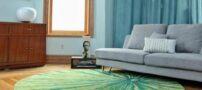 انواع فرش های گرد و زیبا برای پذیرایی مخصوص و بروز