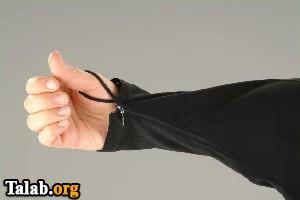 طراحی یک چادر جدید زنانه