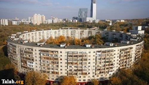 ساختمان گرد و جالب در روسیه (عکس)