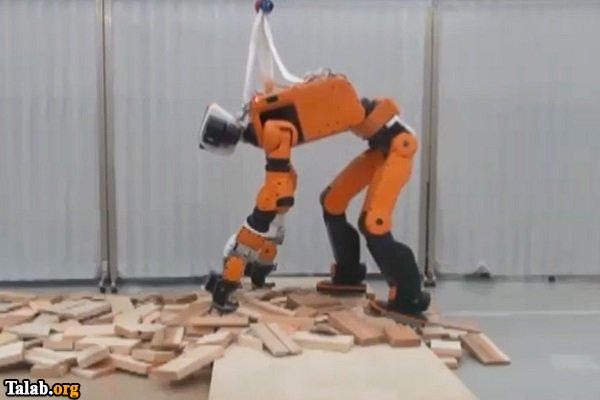 رباتی که شما را از زلزله نجات میدهد