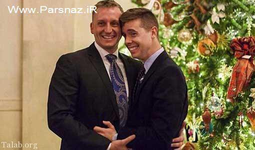 مراسم ازدواج هجنسگرایان به کاخ سفید هم کشیده شد (عکس)