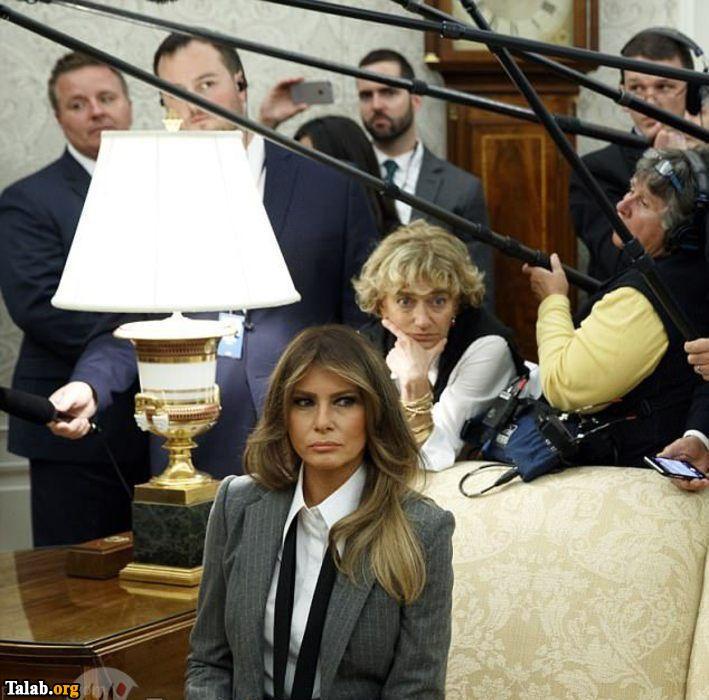 عکس هایی از استایل متفاوت همسر دونالد ترامپ
