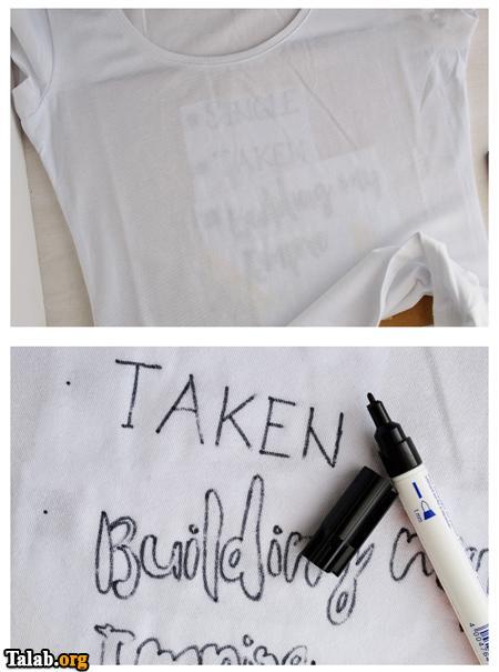تصاویری از آموزش طراحی سیاه و سفید لباس ها