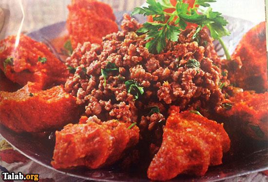 طرز پخت کباب خوشمزه عربی به همراه کوفته سیب زمینی