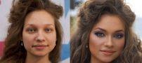 قدم به قدم با آرایش و گریم های خاص صورت (4)