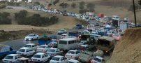 جاده اسلام آباد به سرپل ذهاب قفل شده است (عکس)
