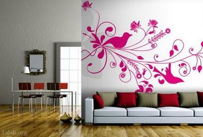 انواع طرح های کاغذ دیواری و روش انتخاب در منزل
