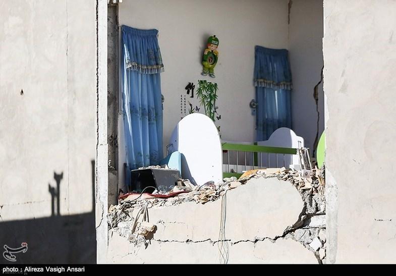 خانه های مسکن مهر بیشترین خسارت را در زلزله کرمانشاه دیده است (عکس)