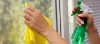 اموزش درست کردن شیشه پاک کن طبیعی