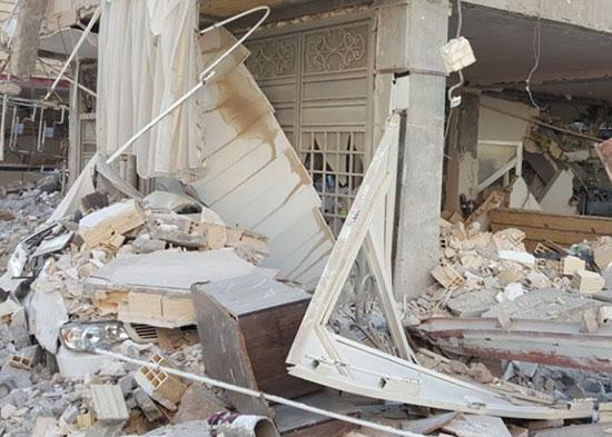 از بین رفتن خودروها بعد از زلزله کرمانشاه (+تصاویر)