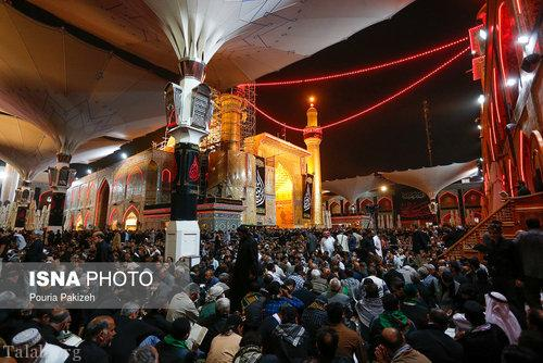 تصاویری از حرم امیرالمومنین در آستانه شب اربعین حسینی