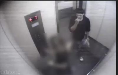 فیلم تجاوز جنسی به دختر جوان در آسانسور