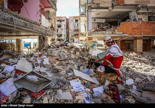 تصاویری از خسارت باور نکردنی سرپل ذهاب ساعاتی بعد از زلزله