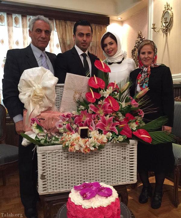 عکس های عروسی مجری زن جوان و موفق نجمه جودکی