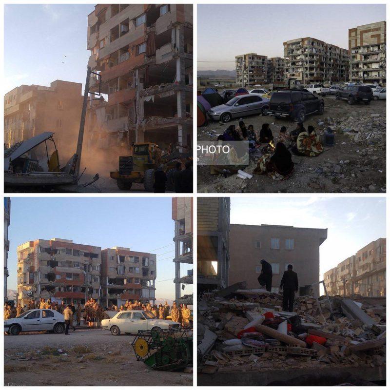 واکنش تند بازیگر معروف در مورد تخریب مسکن مهر در کرمانشاه (عکس)
