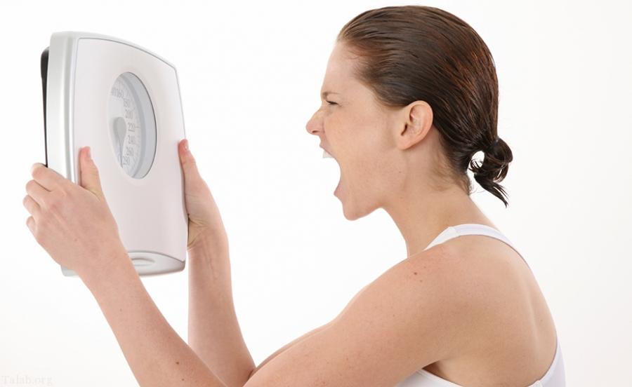علت چاقی بیش از حد شکم چیست ؟