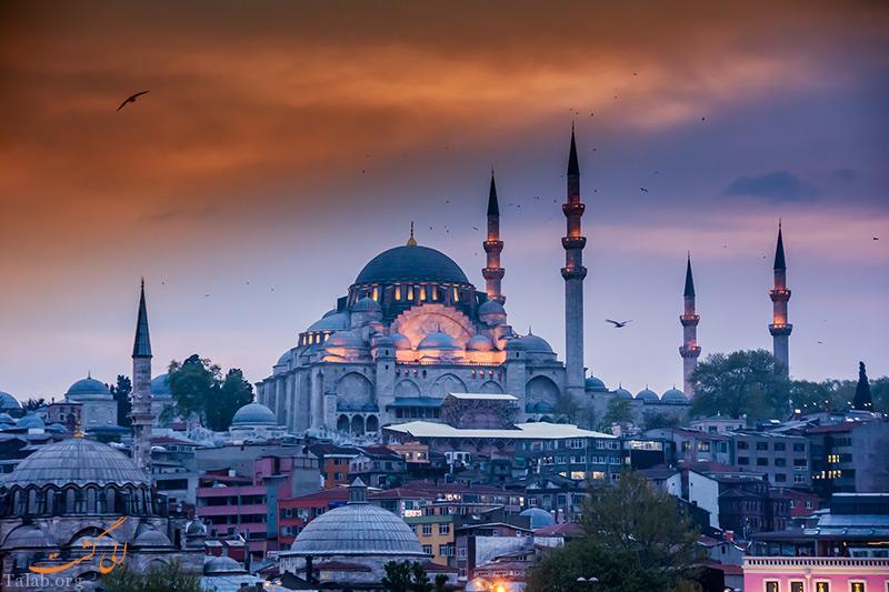آشنایی با تور گردشگری استانبول و مساجد مطرح این شهر