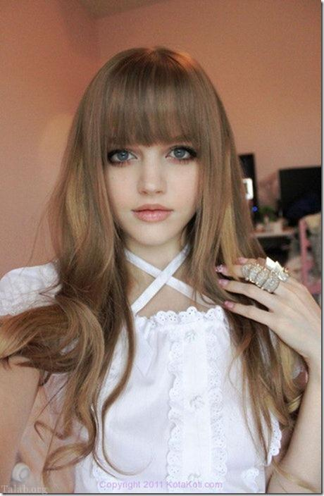 تصاویری از دختر باربی بسیار جذاب 16 ساله