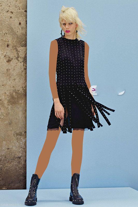عکسهای مدل لباس مجلسی شیک از برند Versace