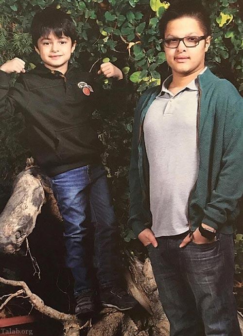 تصاویر آتیله ای از خانواده ی گرم شهاب حسینی