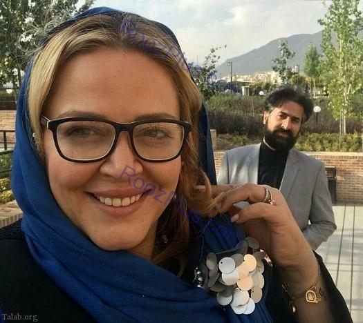 روزای خوش بهاره رهنما در کنار همسرش (عکس)