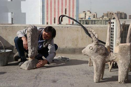 گفتگو جالب و خواندنی با سرایدار افغانی موفق در ایران