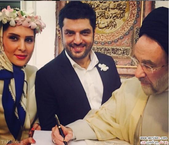 عکسهای لو رفته از جشن عروسی بازیگر معروف سام درخشانی
