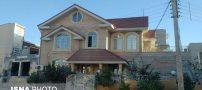 تصویری از خانه ی ویلایی که در زلزله کرمانشاه تخریب نشد !