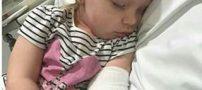 گربه ای با چنگ زدن دختر کودکی موجب بیماری خطرناک و نادر شد