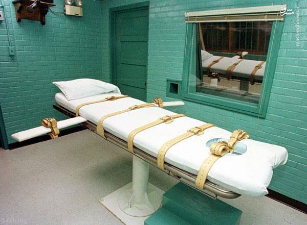 اعدام متهمان با استفاده از آمپول هوا در اتاق مخصوص (عکس)